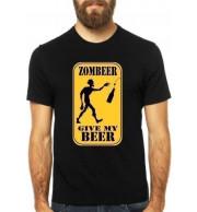 Camiseta Zombeer - Preta G