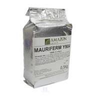 Pacote de Levedura Mauriferm Y904 - 500 gr