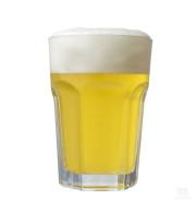 Copo de cerveja produzida com Kit Insumos Witbier - 10 Litros