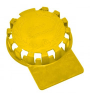 Lacre Plástico Para Barril De Chopp em Inox - Amarelo