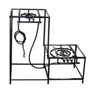 Brewstand Desmontável - Cozinha 2 Fogões 60 Litros