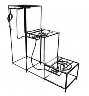 Brewstand Desmontável - Cozinha 3 Fogões 60 Litros