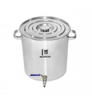 Caldeirão Cervejeiro Inox n.45 com Válvula Inox - 65lts