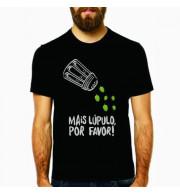 Camiseta Mais Lúpulo Por Favor - Preta XG