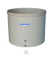 Fermentador de Uva PP Fundo Cônico - cor Bege - capacidade de 3.000 Litros