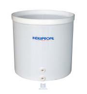 Fermentador de Uva PP Fundo Cônico na cor Branca com capacidade para 1.500 Litros