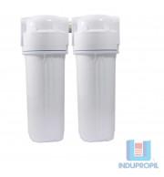 Kit 2 Filtros para Água Tira Cloro - Branco