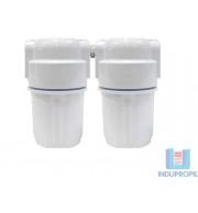 "Kit 2 Filtros para Água Tira Cloro - Branco 5"""