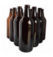 Garrafa de vidro para cerveja modelo cacula 600 ml