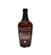 Growler Pet Ambar - 1 Litro