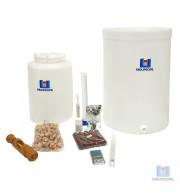 Produção de Vinho em casa kit de equipamentos