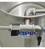 """Kit Recirculação para Mostura em Aço Inox 1/2"""""""