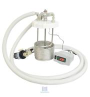 Kit Refrigeração Completo Tampa Fermentador Branco 25/50 Litros