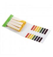 Medidor de pH Papel 1-14 com 80 Fitas