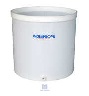 Fermentador de Uva PP na cor Branca com capacidade para 3000 Litros