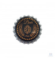 Tampinha Pry Off Preta Beer 1.000