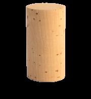Rolha Reta Cortiça Natural 45x24mm - Pct 10und