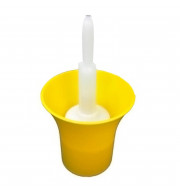 Sanitizador de Garrafas Simples - Amarelo