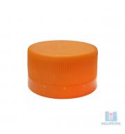 Tampa pet laranja de cor indupropil