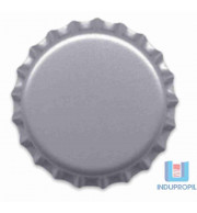 Tampinha Champagne 29mm Prata - Pct 50 Und