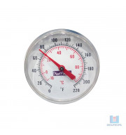 Termômetro em Inox de Sobrepor -10 +110C