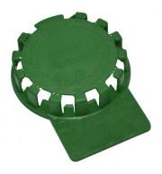 Lacre Plástico Para Barril De Chopp em Inox - Verde