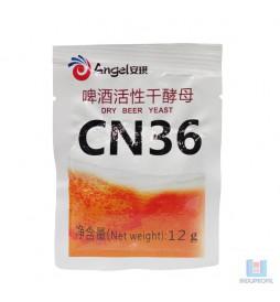 Fermento Levedura para Cerveja Angel Yeast Ale CN36 - 12 gr