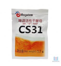Fermento Levedura para Cerveja Angel Yeast Ale CS31 - 12 gr
