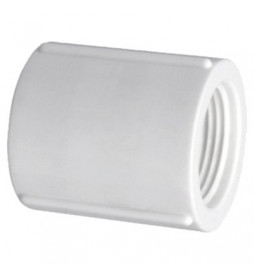Luva PVC Roscável 3/4 BSP