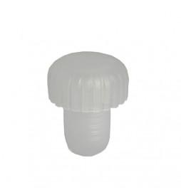 Rolha Plástica Natural Tipo Cogumelo