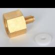 "Adaptador Sodastream 6acme (Europa/Usa) Para Mini Reguladoras 3/8""-24unf"