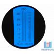 Refratômetro Dupla Escala Brix 0-32% - SG 1.000-1.120